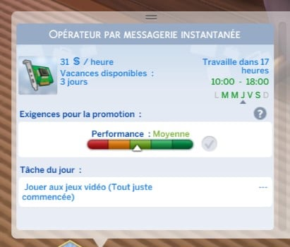 Carrière gourou des technologies sims 4