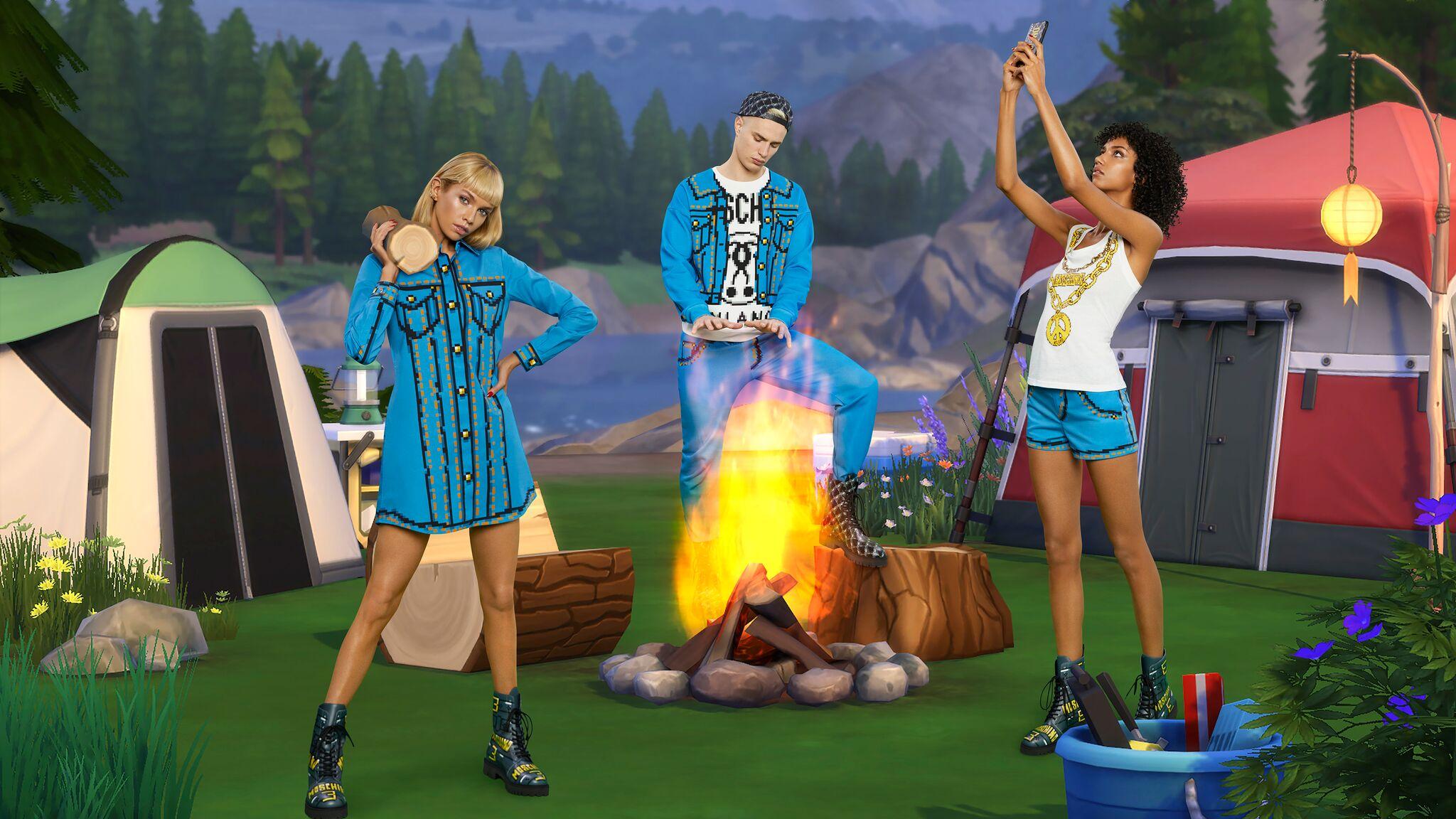 Les Sims annoncent un partenariat avec Moschino