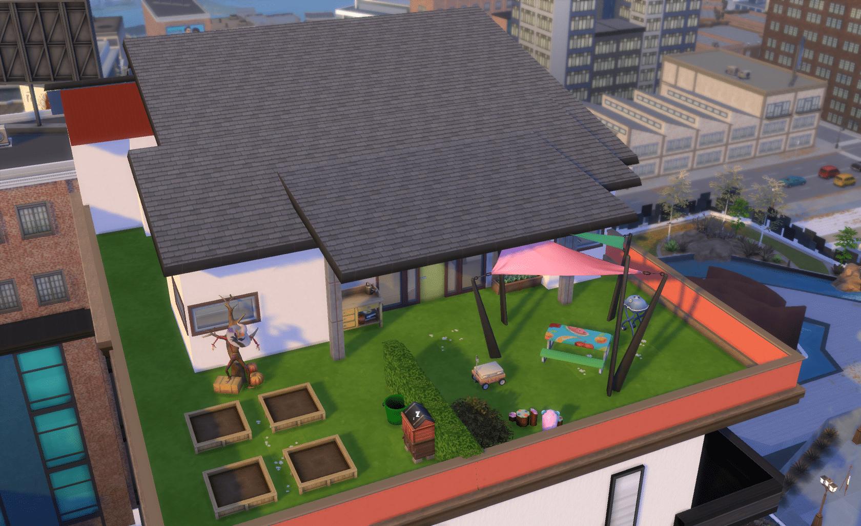 La vie des Sims en appartement