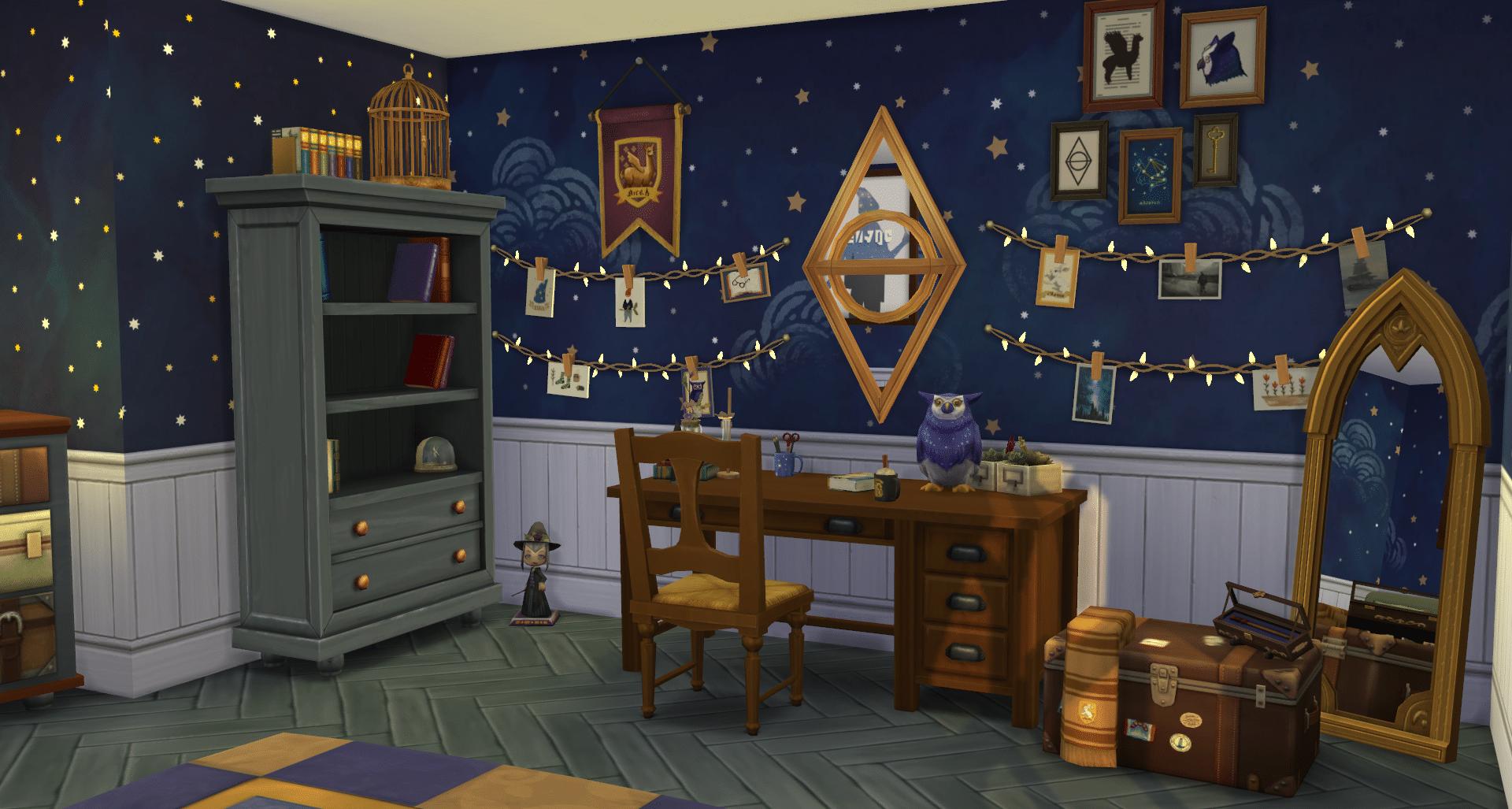 Trésors du Web – Harry Potter chez les Sims