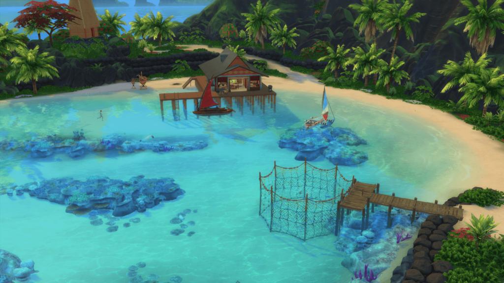 Sulani Sims 4 Iles Paradisiaques