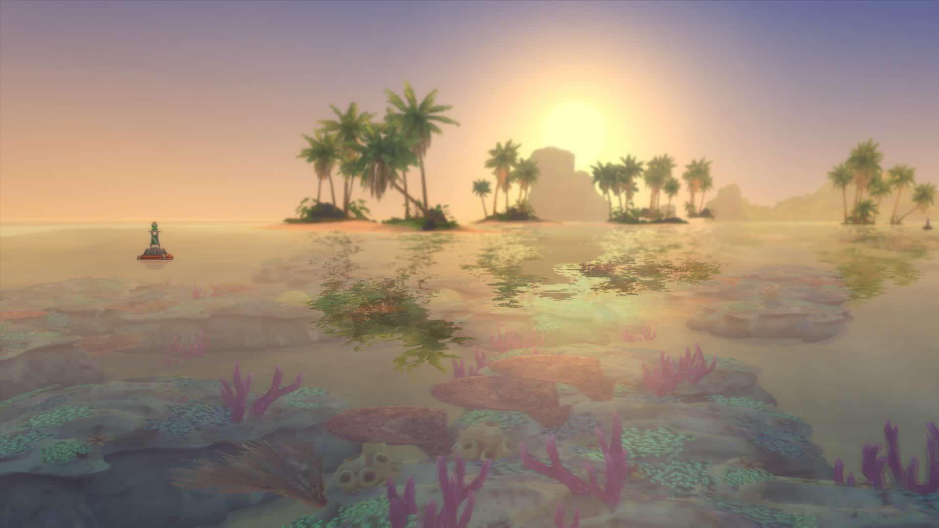 Océan sims 4 iles paradisiaques