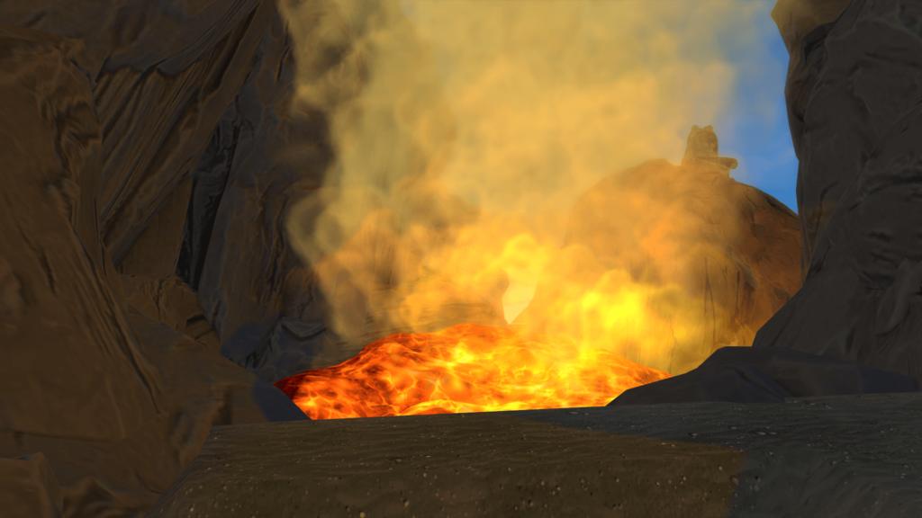 Volcan Sims 4 Iles Paradisiaques