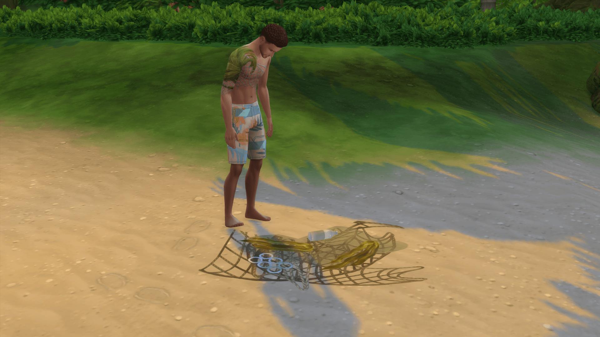 Nettoyer plage sulani sims 4 iles paradisiaques