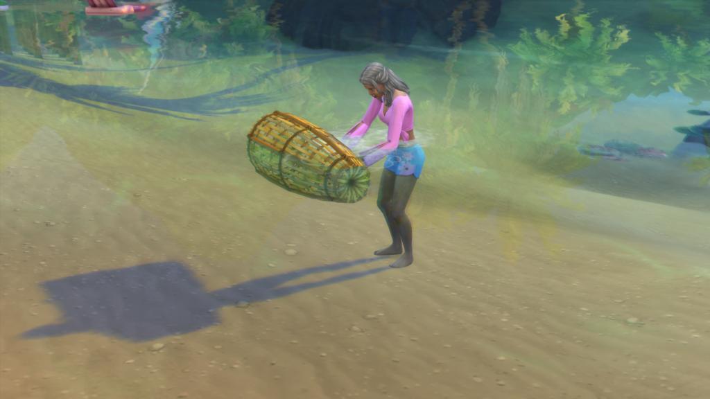La pêche chez Les Sims 4