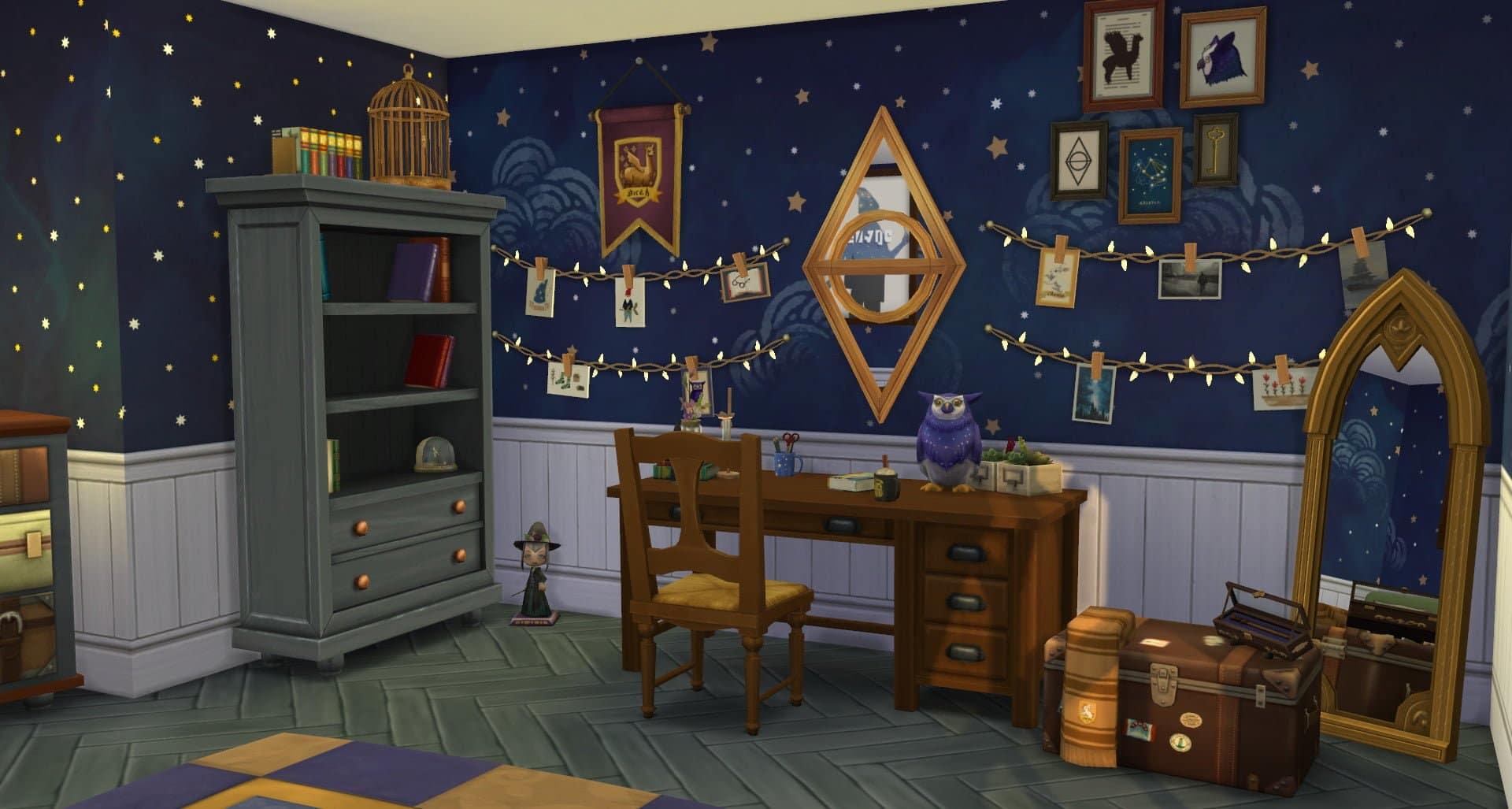 Trésors du Web - Harry Potter chez les Sims