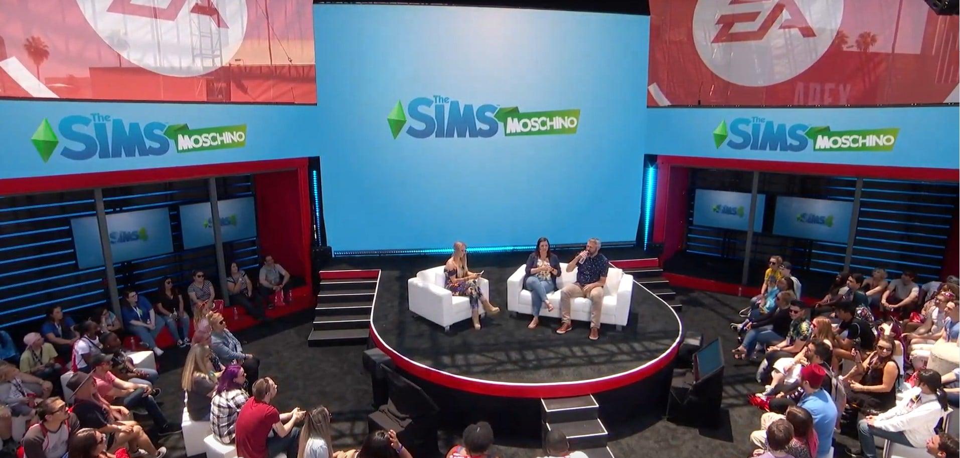 Un kit en partenariat avec Moschino pour Les Sims 4