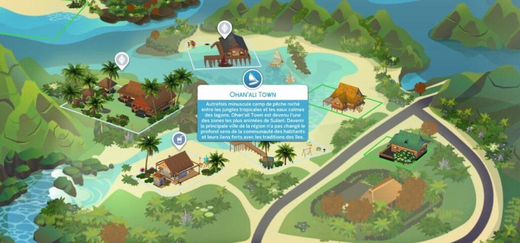 Ohan'ali Town Sulani Sims 4 Iles Paradisiaques
