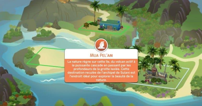 Mua Pel'Am Sulani Sims 4 Iles Paradisiaques