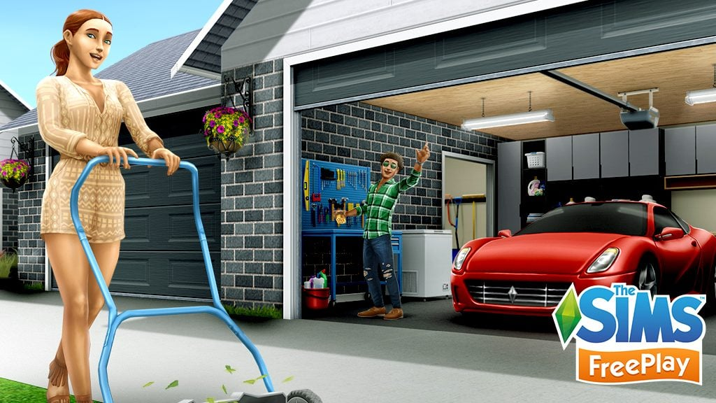 Sims Freeplay : L'événement Garages Grandioses commence