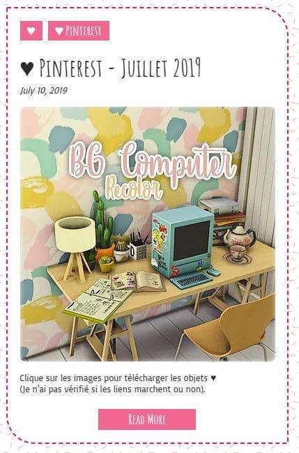 Le Monde de FannyChou'- Blog de Sims - Page 4 Pintjuillet2019