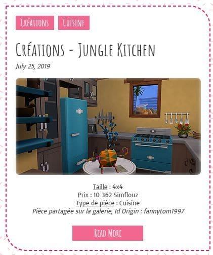 Le Monde de FannyChou'- Blog de Sims - Page 4 Junglekitchen