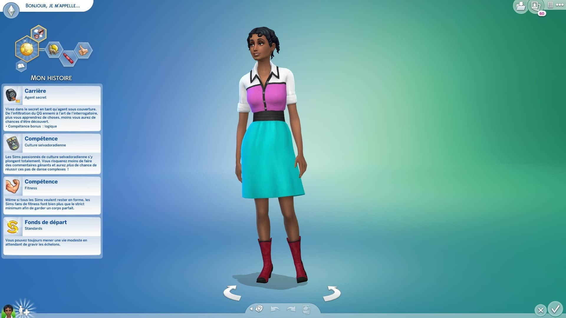 Mon Histoire Sims 4 Créer Un sim
