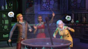 Test Les Sims 4 Monde Magique