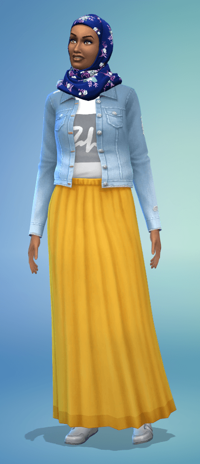 Voile Sims 4