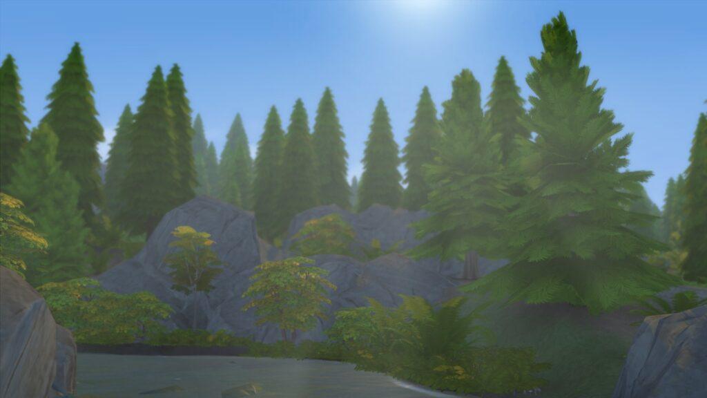 Glimmerbrook sims 4 monde magique