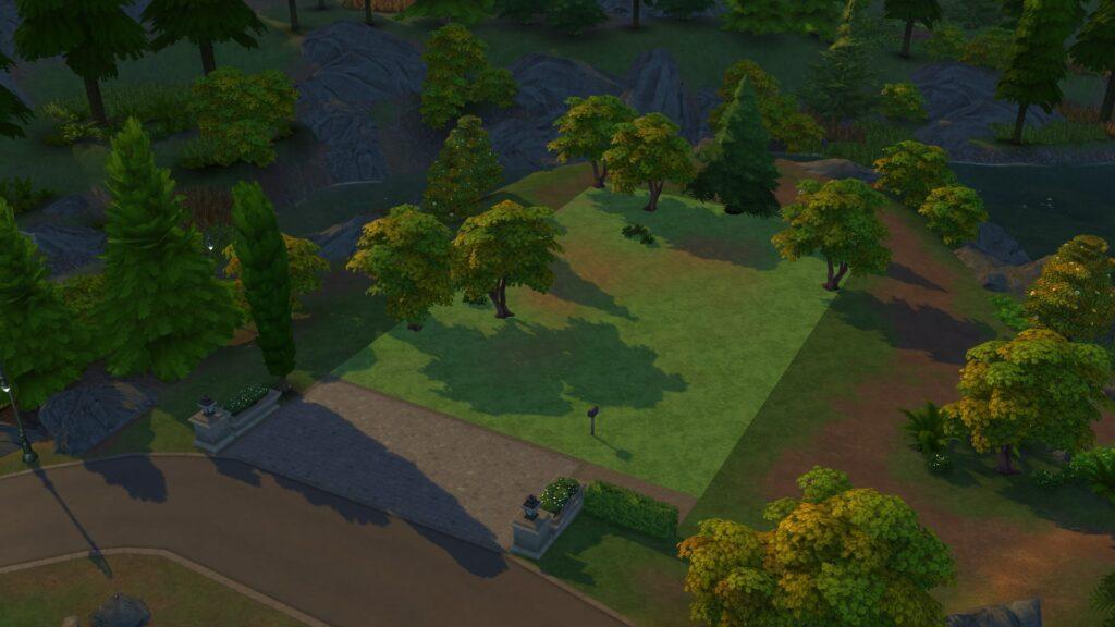 Terrain Glimmerbrook sims 4 monde magique