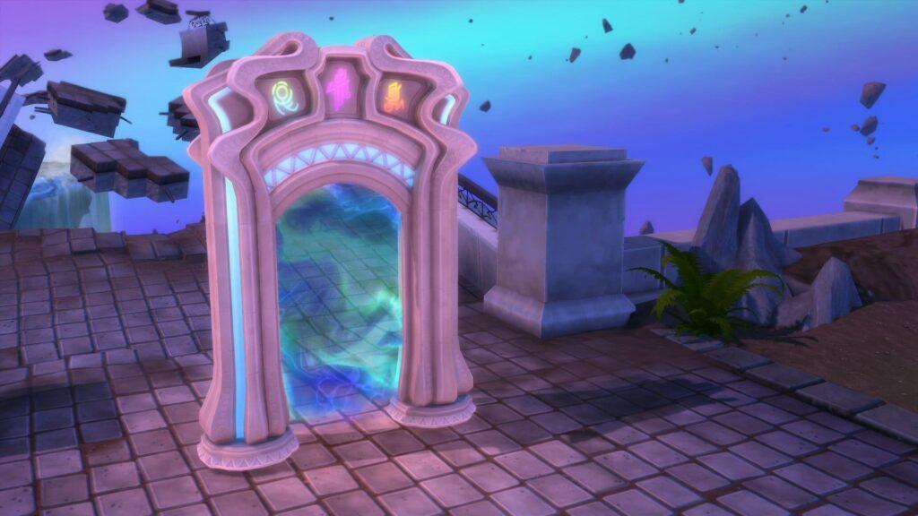 Monde Magique Sims 4
