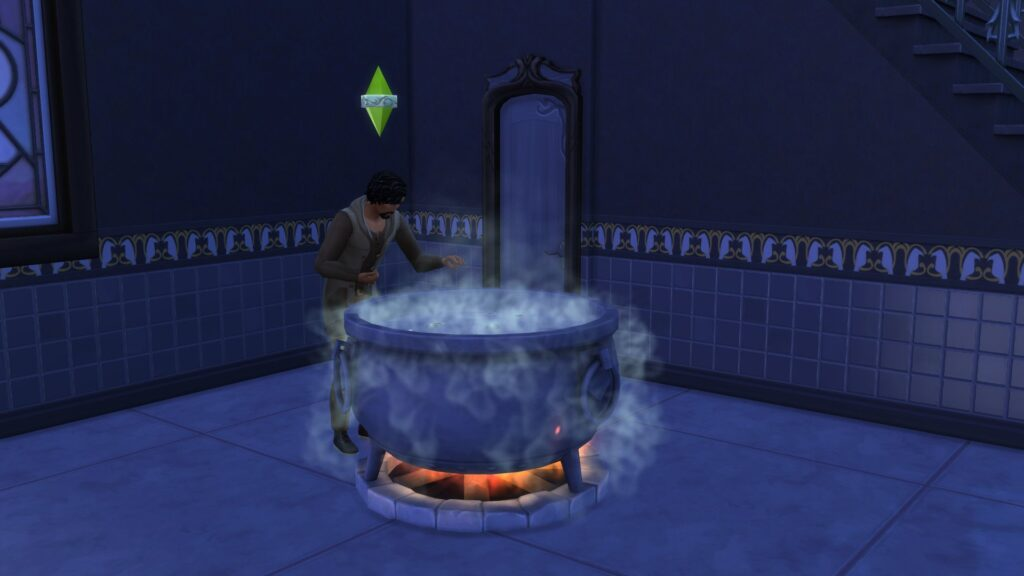 Chaudron Sims 4 Monde Magique