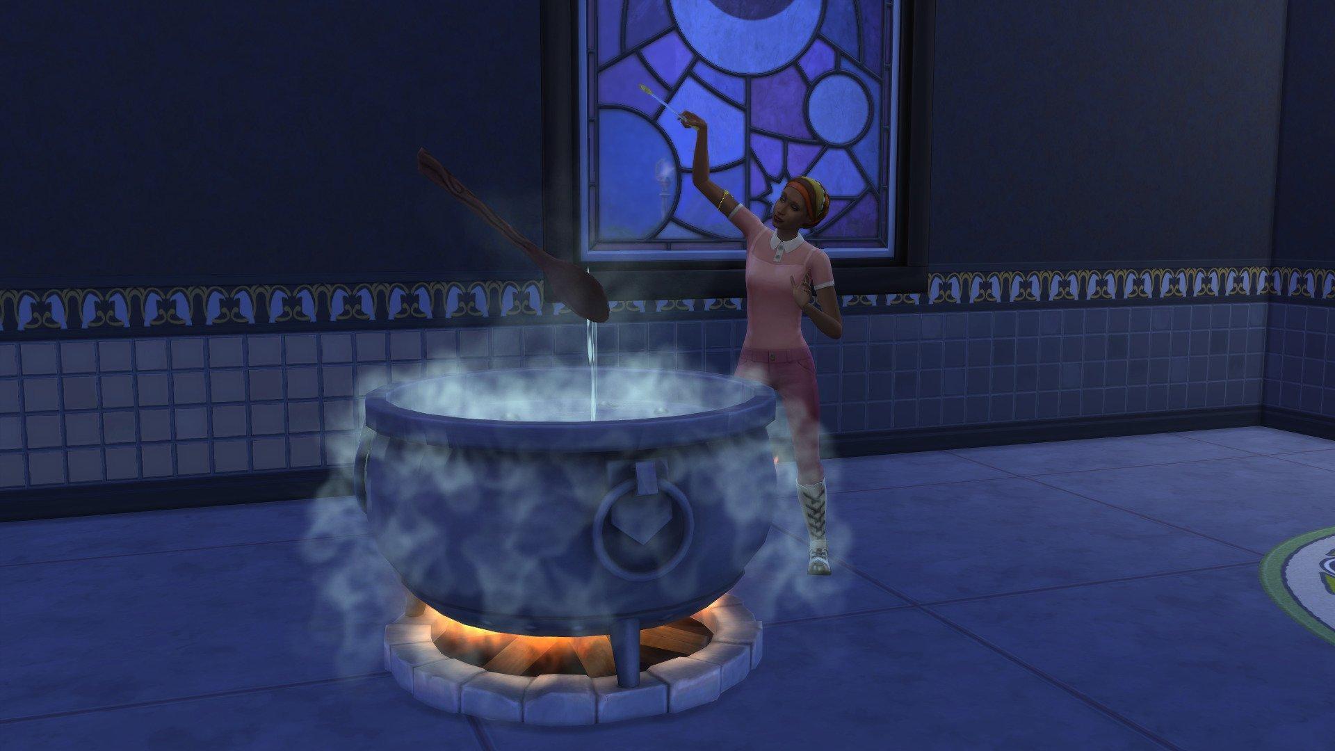 Fabriquer potions sims 4 monde magique