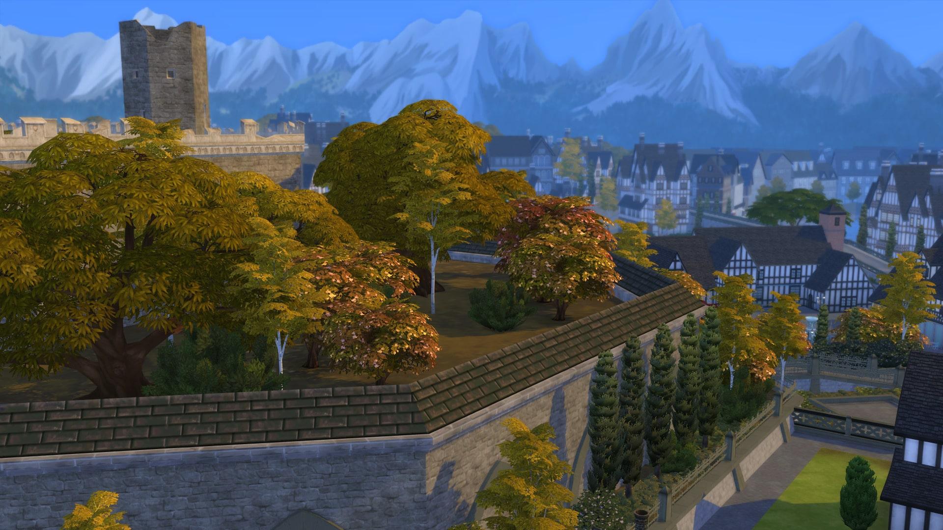 Windenburg automne Sims 4