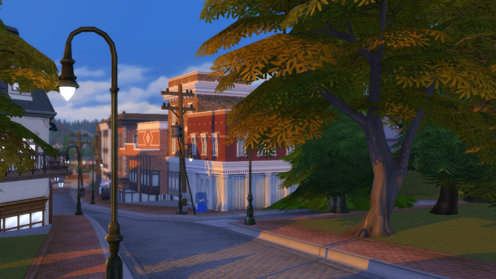 Brindleton Bay automne Sims 4