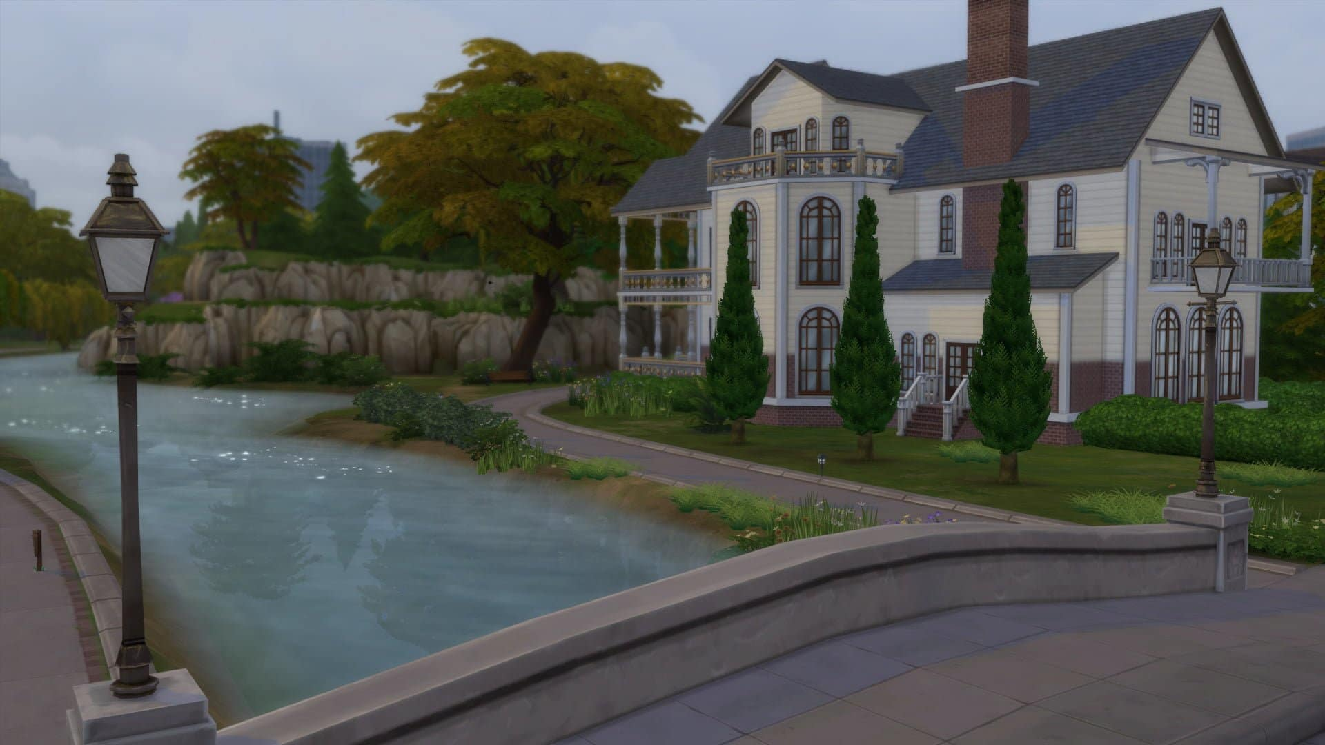 Willow Creek automne Sims 4