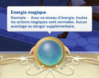 Energie magique normale sims 4 monde magique
