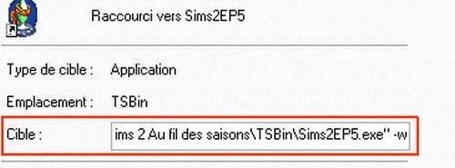 Jouer aux Sims 2 en version fenêtrée