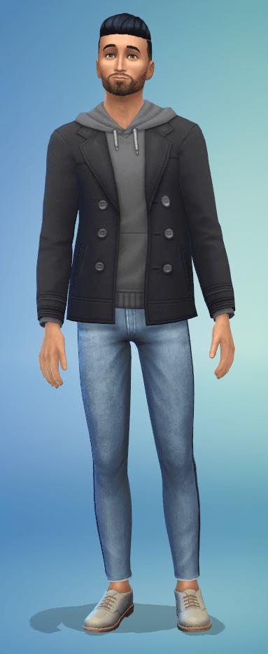 Tenue Sims 4 à la fac