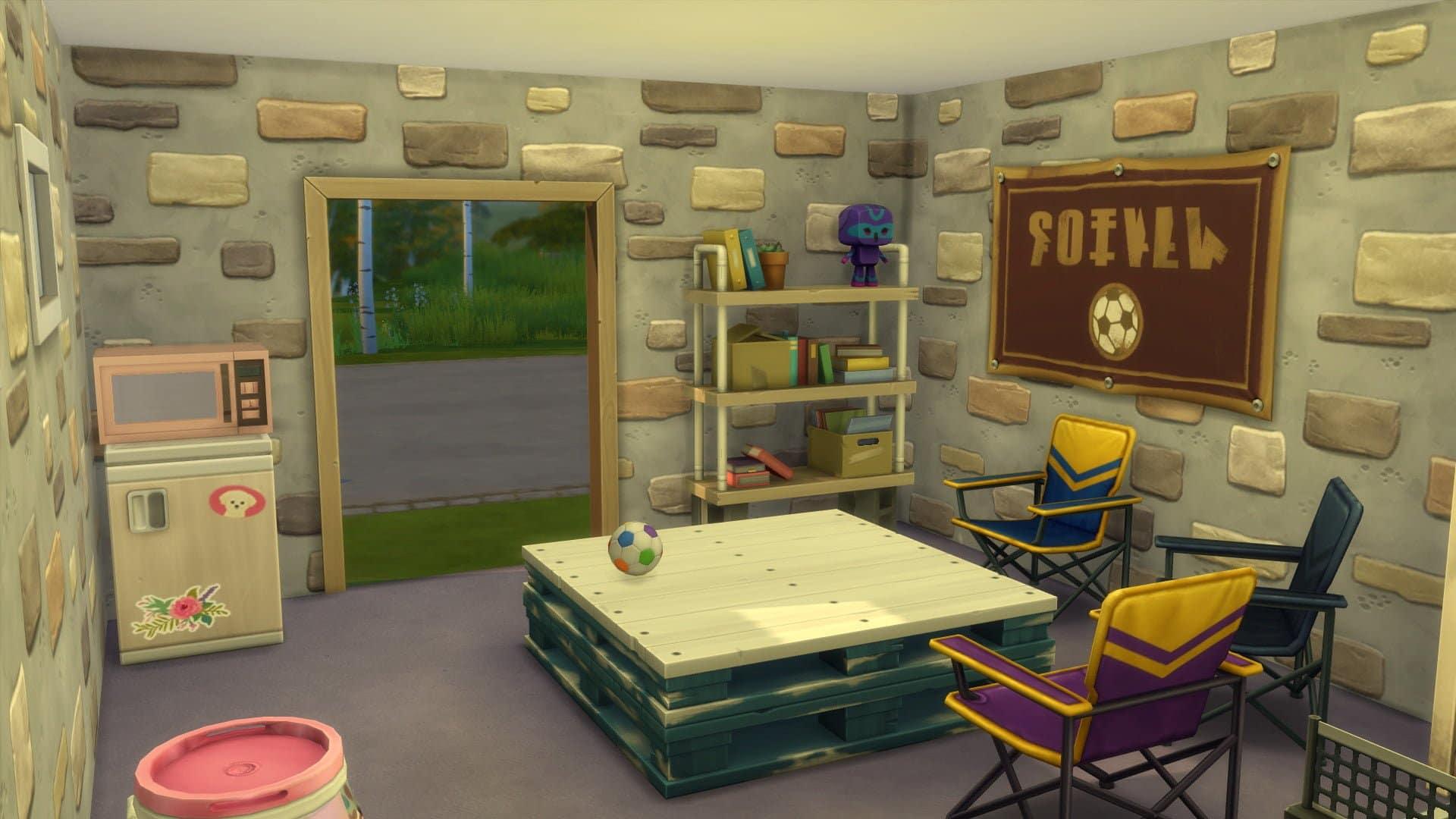 Objets Sims 4 A la Fac