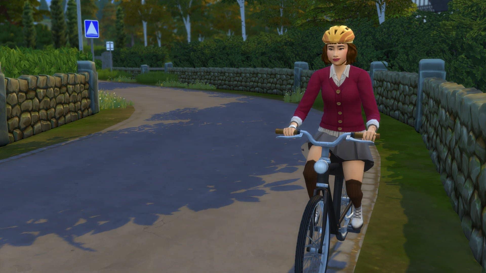 Vélo Les Sims 4 À la Fac