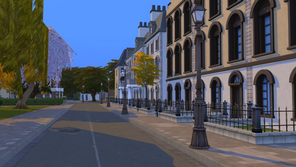 Britechester Sims 4 À la Fac
