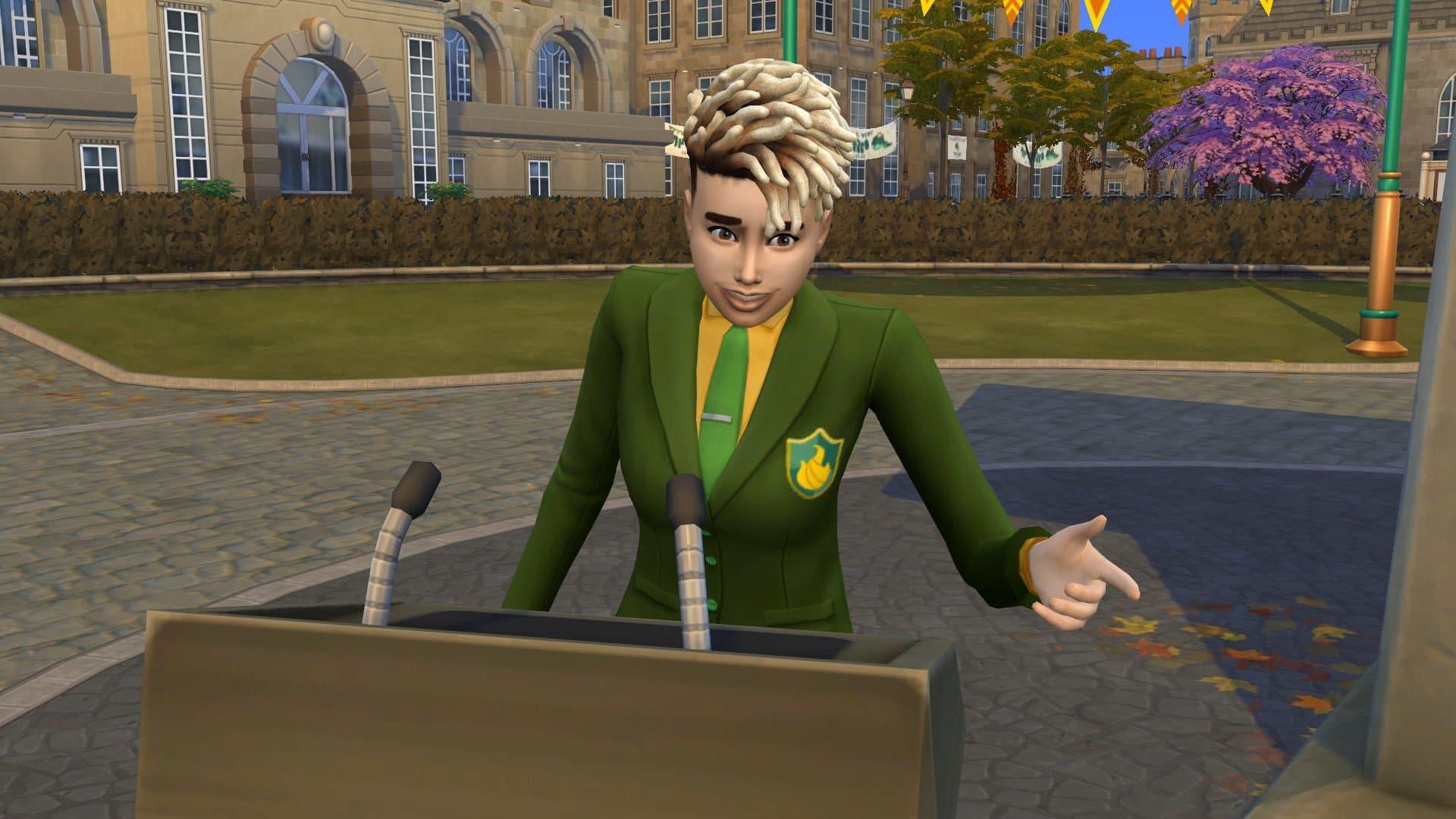 Nous avons testé l'extension Les Sims 4 À la Fac