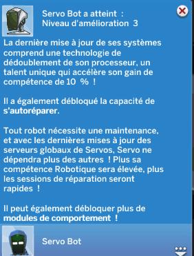 Compétence robotique et Servos
