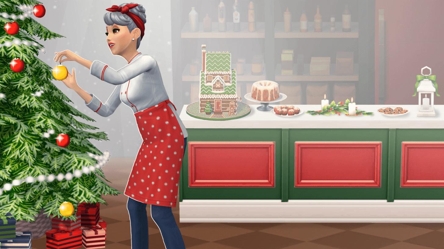 La mise à jour de Noël des Sims Mobile est disponible