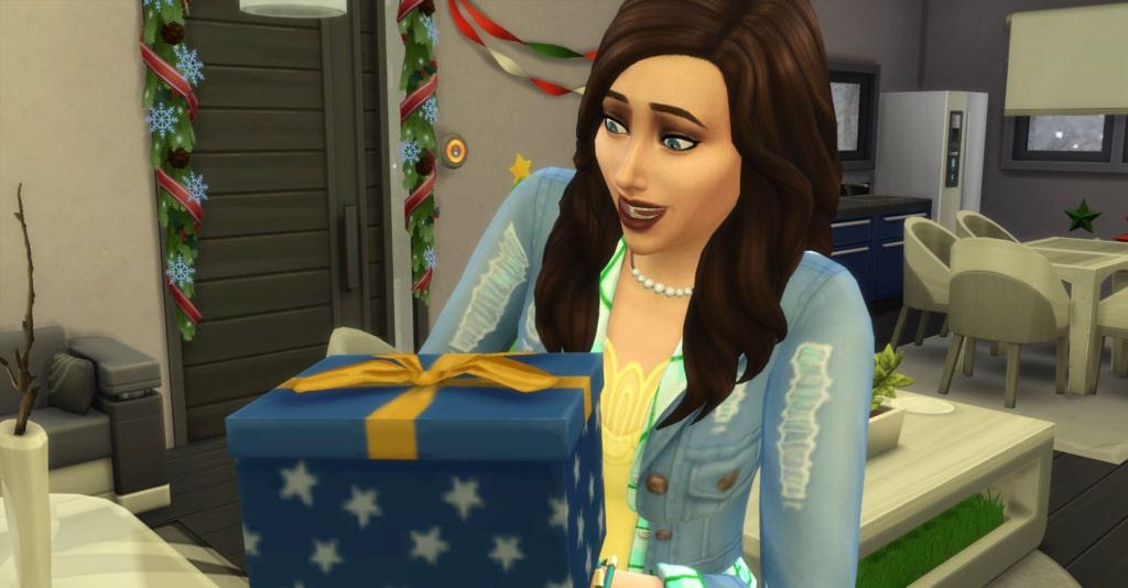Cadeau fête de l'hiver Sims 4 Saisons