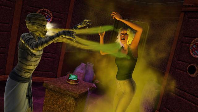 Zoom sur les momies dans Les Sims 3
