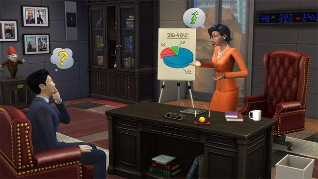 Carrière Affaire Sims 4