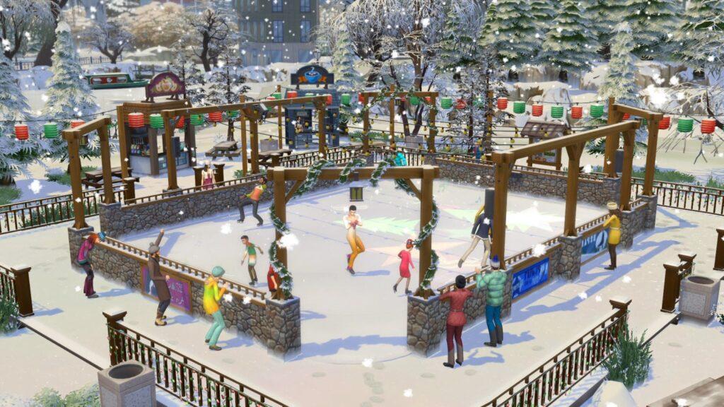 Hiver Sims 4 Saisons