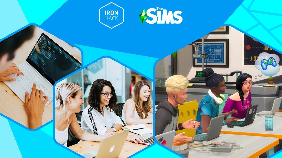 Un partenariat entre Les Sims et Ironhack