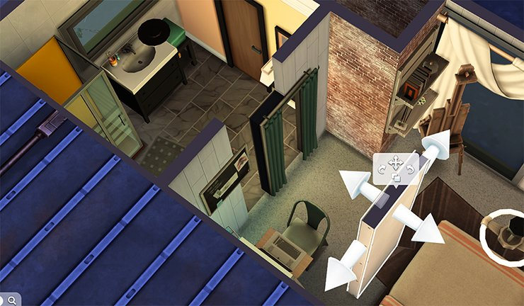 appartement Sims 4