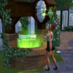 Zoom sur le Puits aux Souhaits dans Les Sims 4