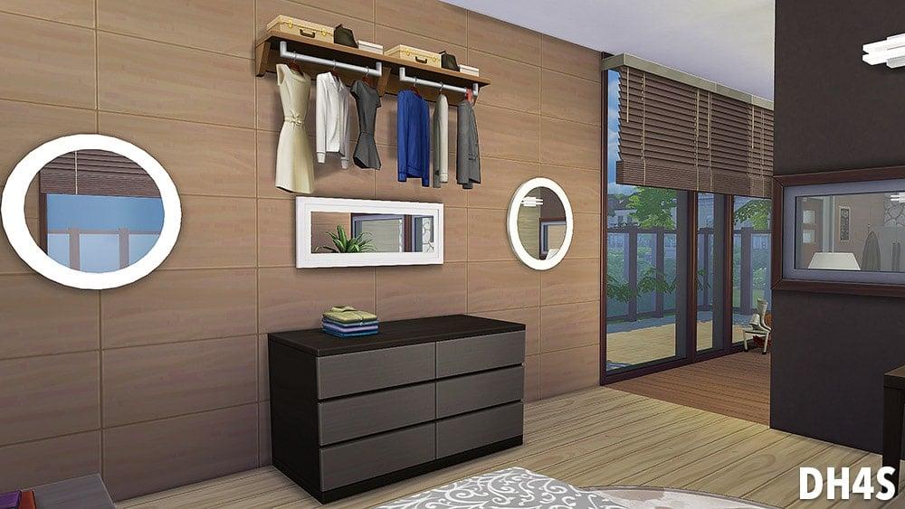 Pièce tout-en-un : Wood & Modernity