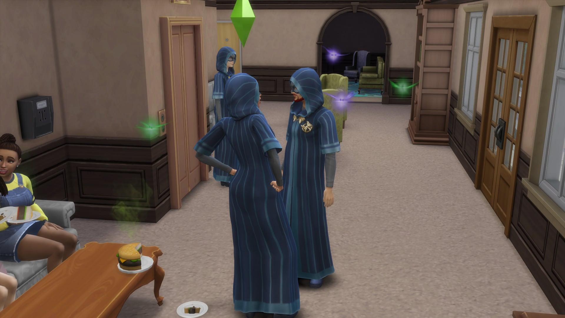Lutins Sociétés secrètes Sims 4 À la Fac