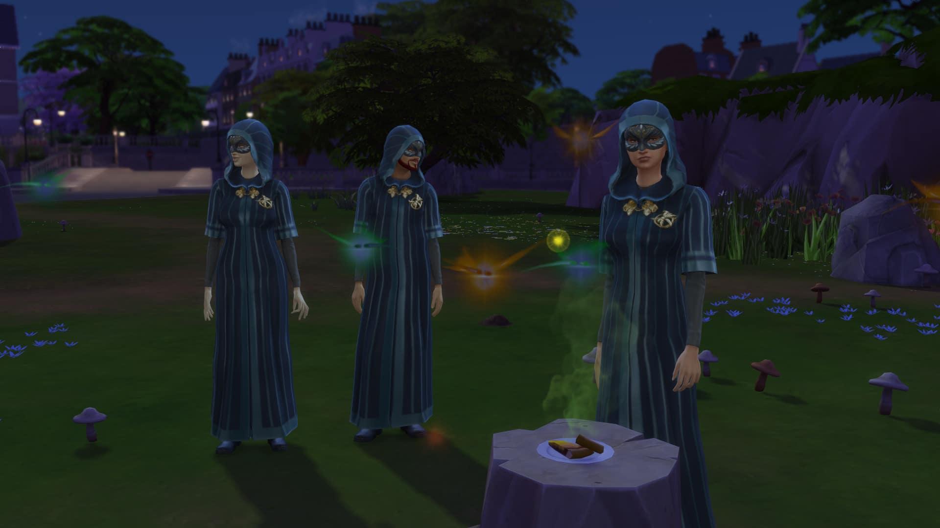 Membres société secrète Sims 4 À la Fac