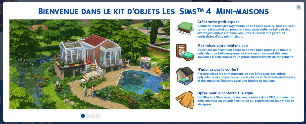 Les Sims 4 Mini Maisons