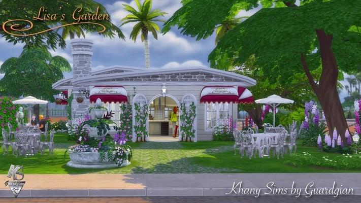 Café Lisa's Garden
