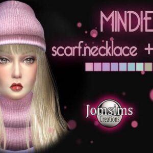 Écharpe et bonnet Mindie