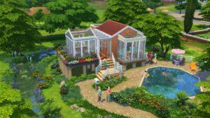 Test Les Sims 4 Mini Maisons